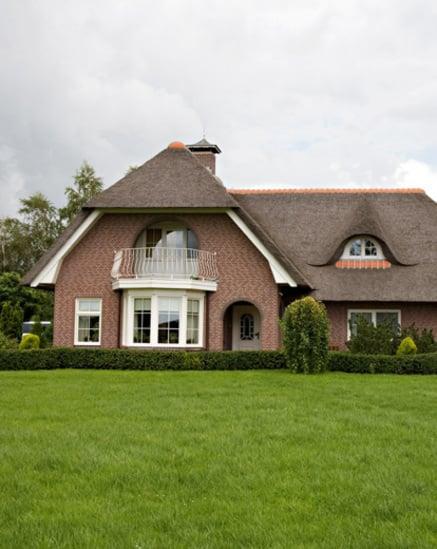 Maison dans la province hollandaise de Frise