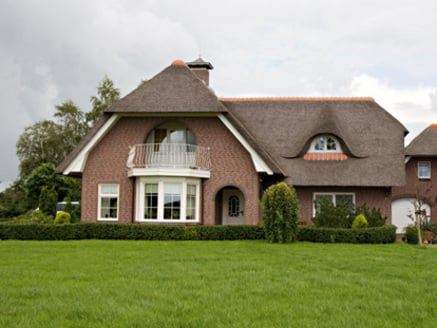 House in Friesland, the Netherlands