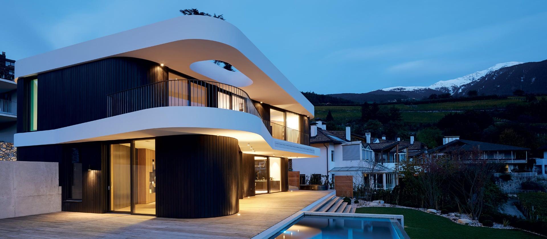Maison dans la vallée de l'Isarco