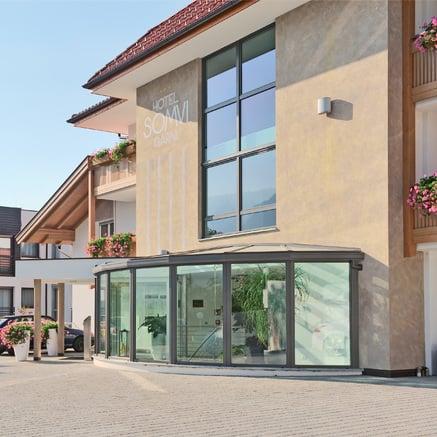 Hôtel Somvi dans le village de Tyrol