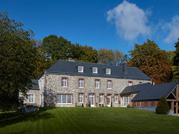 Castillo en Bélgica