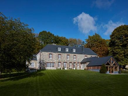 Castelo na Bélgica