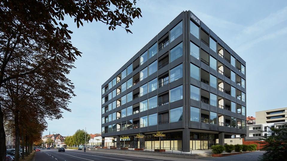 Siemens building in Saarbrücken