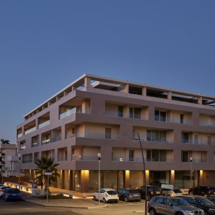 Business and residential building at Caserta
