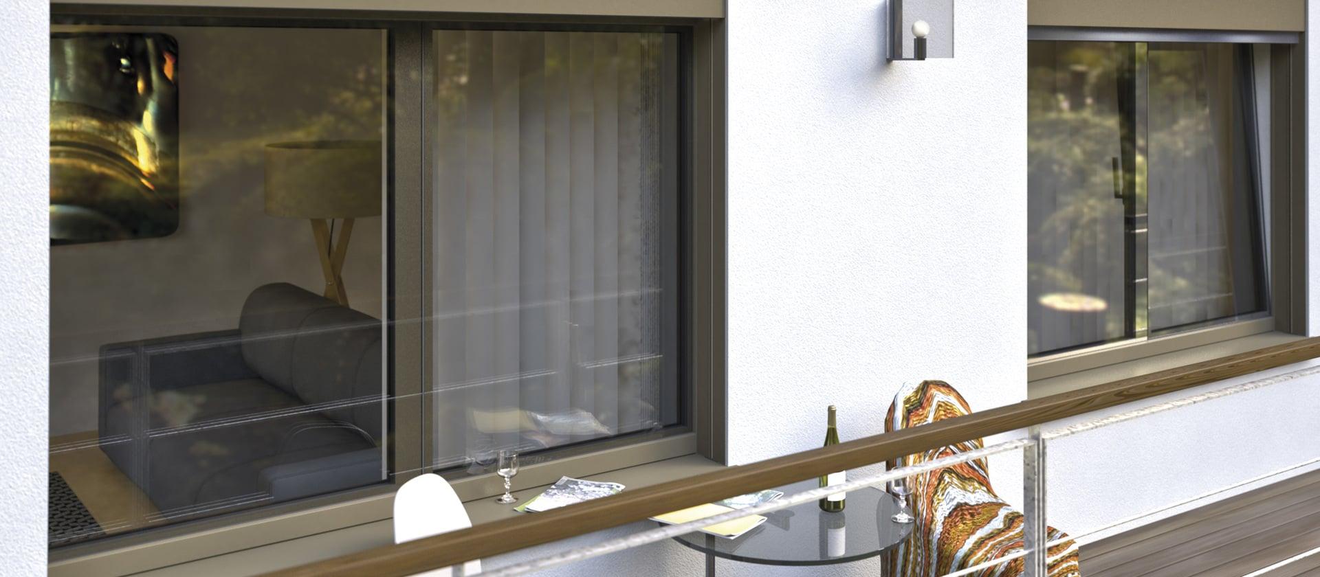 Kozijnen en deuren in volglas-optiek