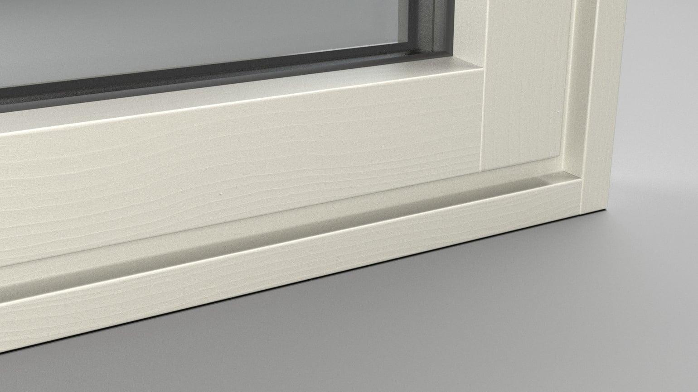 3X08 Branco pérola poroso