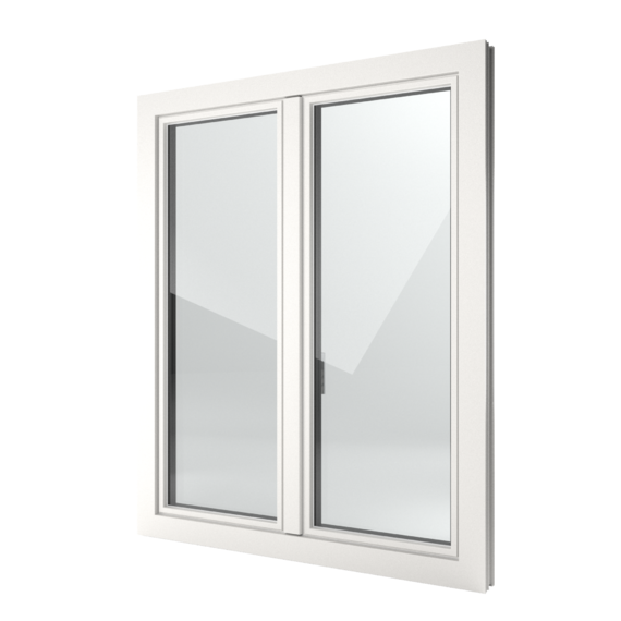 FIN-Window Slim-line 77 PVC-PVC