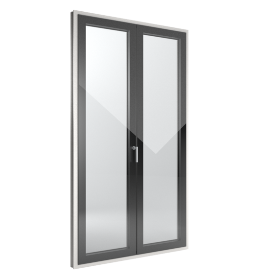 FIN-Window Slim-line Cristal 77