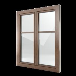 FIN-Window Classic-line 77+8 Alluminio-PVC