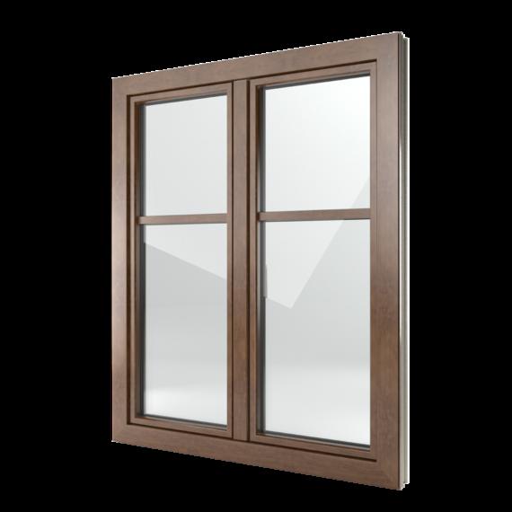 FIN-Window Classic-line 77+8 aluminium-PVC