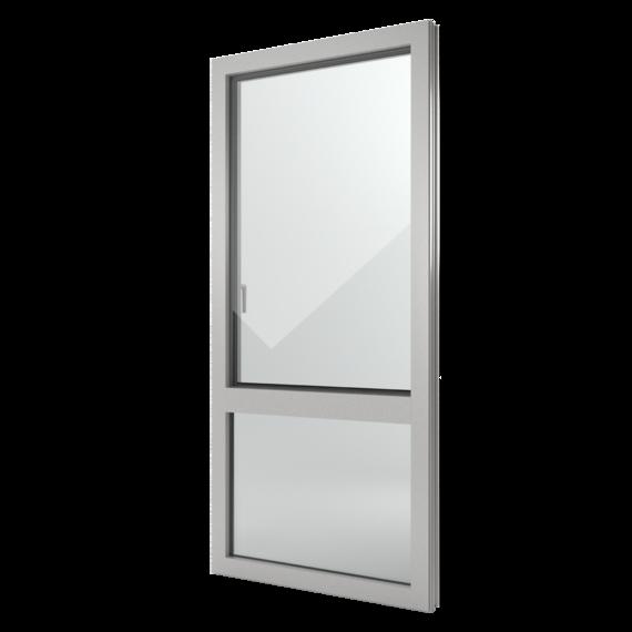 FIN-Window Nova-line 77+8 Alluminio-PVC