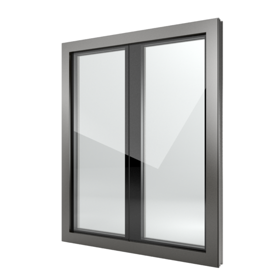 FIN-Window Nova-line Plus 77+8 Alluminio-PVC
