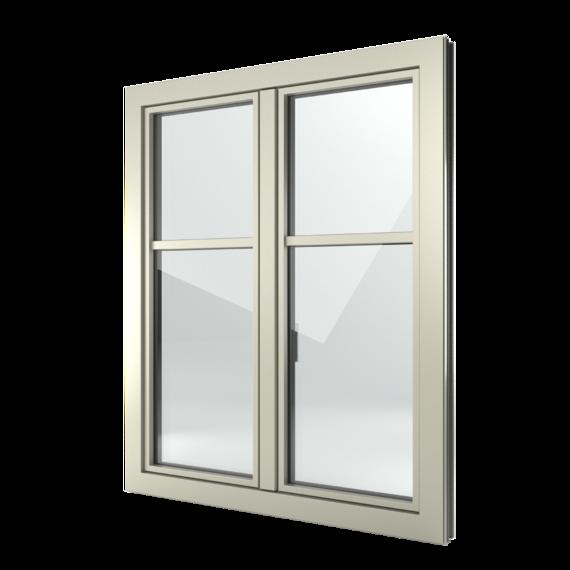 FIN-Window Slim-line 77+8 Aluminium-Kunststoff