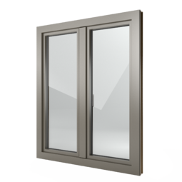 FIN-Window Step-line 77+8 aluminium-PVC