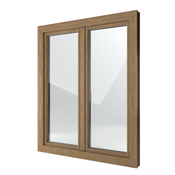 FIN-Window Classic-line 90 Kunststoff-Kunststoff