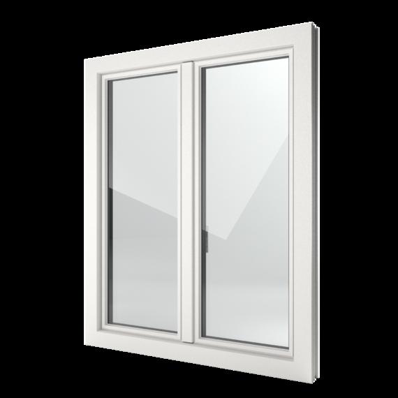 FIN-Window Slim-line 90 Kunststoff-Kunststoff