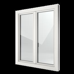FIN-Window Slim-line 90 PVC-PVC
