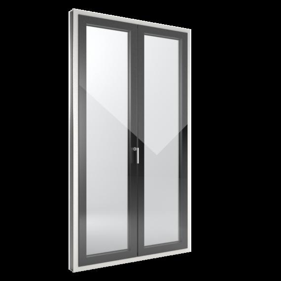 FIN-Window Slim-line Cristal 90