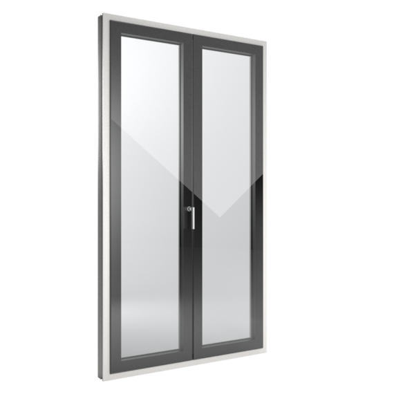 FIN-Window Slim-line Cristal 90