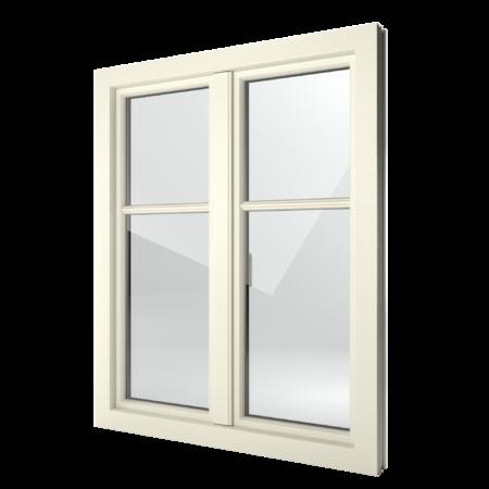 FIN-Window Step-line 90 Kunststoff-Kunststoff