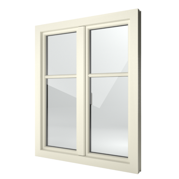 FIN-Window Step-line 90 PVC-PVC