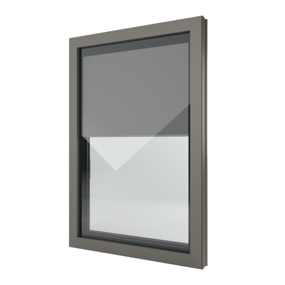 FIN-Window Nova-line Twin 77+8 Alluminio-PVC