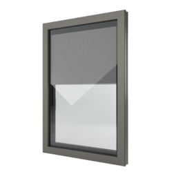 FIN-Window Nova-line Twin 77+8 aluminium-PVC
