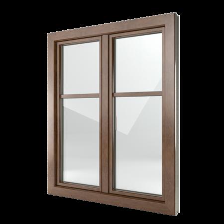 FIN-Window Classic-line C 90+8 aluminium-PVC