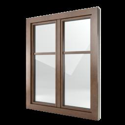 FIN-Window Classic-line N 90+8 Alluminio-PVC
