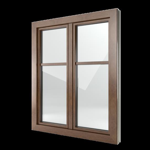 FIN-Window Classic-line N 90+8 aluminium-PVC