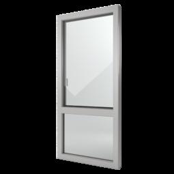 FIN-Window Nova-line C 90+8 Alluminio-PVC
