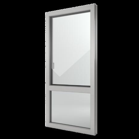 FIN-Window Nova-line C 90+8 aluminium-PVC