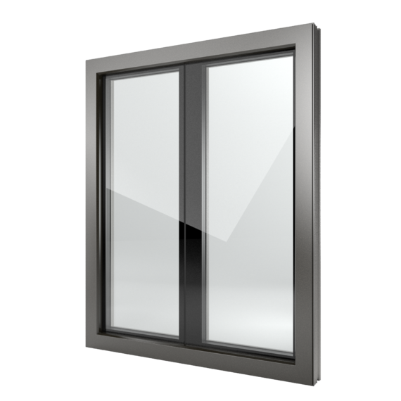 FIN-Window Nova-line Plus C 90+8 Alluminio-PVC