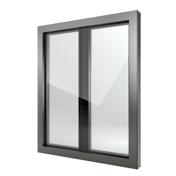 FIN-Window Nova-line Plus N 90+8 Alluminio-PVC