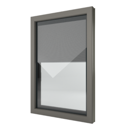 FIN-Window Nova-line Twin C 90+8 Alluminio-PVC