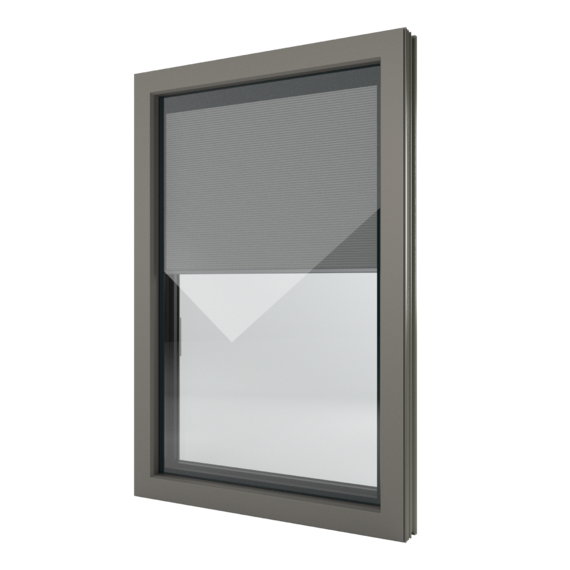 FIN-Window Nova-line Twin C 90+8 aluminium-PVC