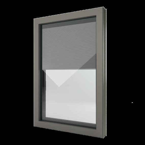 FIN-Window Nova-line Twin N 90+8 Aluminium-Kunststoff