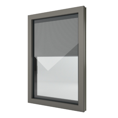FIN-Window Nova-line Twin N 90+8 Alluminio-PVC