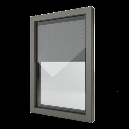 FIN-Window Nova-line Twin N 90+8 aluminium-PVC