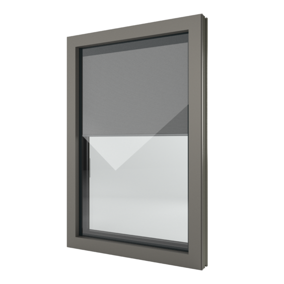 FIN-Window Nova-line Twin N 90+8 aluminium-PVC