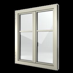 FIN-Window Slim-line C 90+8 Aluminium-Kunststoff