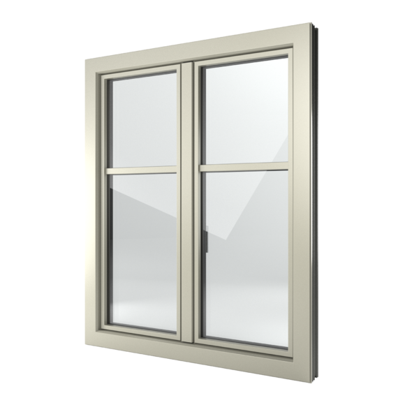 FIN-Window Slim-line C 90+8 aluminium-PVC