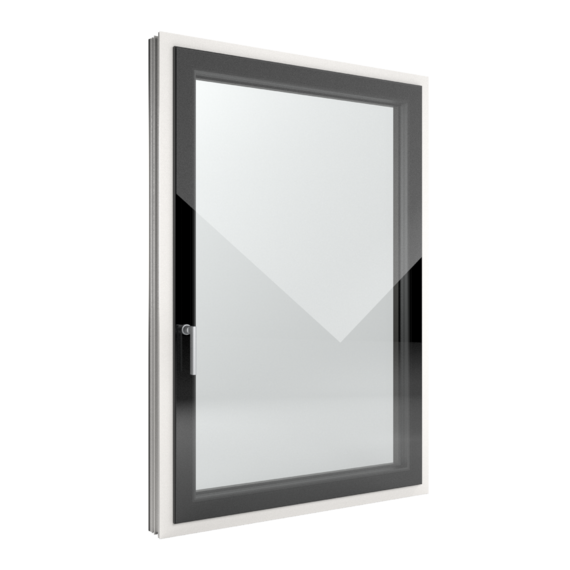 FIN-Window Slim-line Cristal N 90+8