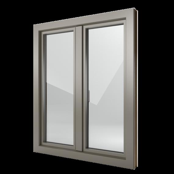 FIN-Window Step-line C 90+8 Aluminium-Kunststoff