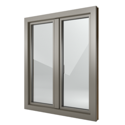 FIN-Window Step-line C 90+8 aluminium-PVC