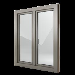 FIN-Window Step-line N 90+8 aluminium-PVC
