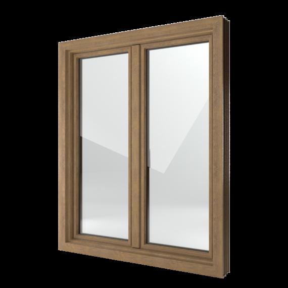 FIN-Window Classic-line 124 Kunststoff-Kunststoff