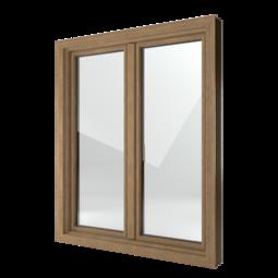FIN-Window Classic-line 124 PVC-PVC