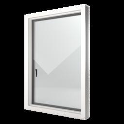 FIN-Window Nova-line 124 PVC-PVC