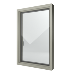 FIN-Window Nova-line Plus 124 PVC-PVC